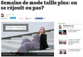 Montreal + Fashion Week - Journal Metro