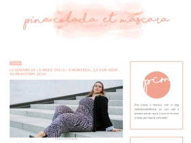 Montreal + Fashion Week - Pina colada & Mascara